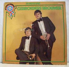 """33 tours GEBROEDERS BROUWER Disque LP 12"""" DE BESTE VAN Trompette DURECO 52.001"""