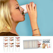 FRED & FRIENDS PICK YOUR NOSE PARTY CUPS Paper Male Female Drink Photo Realistic