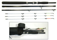 "6' / 8 ""bison multi POINTE Embarcadère voyage Spin Rod & Cordura Tube Rod"