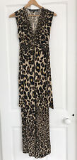 Sexy ASOS Forever Unique Maxi Leopard Dress 8