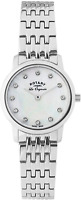 Rotary-LB90016/07 Women's Quartz Analogue Watch-Silver Stainless Steel Strap