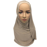 Fashion Women's Scarf Muslim Hijab Soft Scarves Lady Shawls Accessories J