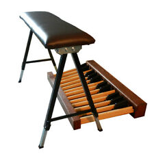 Folding Height Adjustable Organ Bench