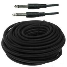 """50ft Mono 1/4""""Male~M Guitar/Amp/Microphone/PA/Mic Patch/Cable/Cord/Wire,6.3mm"""