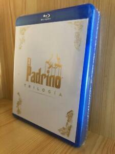 EL PADRINO TRILOGÍA EDICIÓN CASTELLANO BLU-RAY NUEVA PRECINTADA