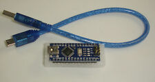 Arduino compatible Nano ATMega328 y controlador CH340 con cable USB