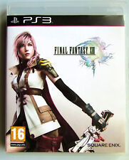 Final Fantasy XIII13 PS3 Game complete DISC CASE AND BOOKLET IN MINT CONDITION.