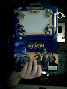 MARVEL BATMAN MAGNETIC SCRIBBLER  & ACTIVITY HARDBACK BIRTHDAY CHRISTMAS