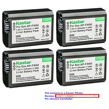 Kastar Replacement Battery for Sony NP-FW50 BC-VW1 & Sony ILCE-6300 Alpha a6300