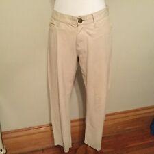 CURRENT/ELLIOT 100% Goat Leather The Boyfriend Low Waist 5 Pocket Jeans Sz 28