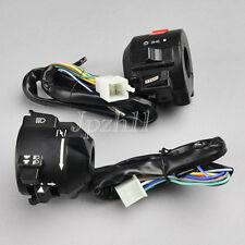 "Motorcycle 7/8"" Handlebar Horn Turn Signal Electrical Start Switch 12V Honda J02"