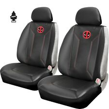 For Audi Car Truck SUV Seat Covers Pair of Marvel Deadpool Sideless New