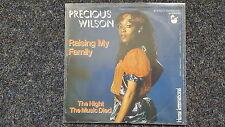 Precious Wilson - Raising my family 7'' Single [Eruption/ Frank Farian]