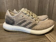Men's Adidas PureBoost Clima B37778 Running Shoes SIZE 8 Pale Nude