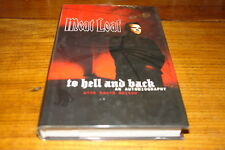 TO HELL AND BACK-AN AUTOBIOGRAPHY BY MEAT LOAF-SIGNED COPY