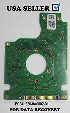 Hitachi PCB BOARD HTS542512K9SA00, SATA 2.5 120GB  pcb: 220-0A0002-01