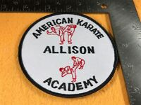 H2-48 ALLISON AMERICAN KARATE ACADEMY PATCH
