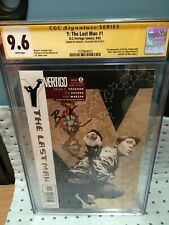 Y the last man #1 CGC SS 9.6 Signed by BKV