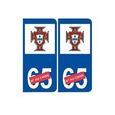 portugal foot euro numéro choix autocollant plaque sticker droits