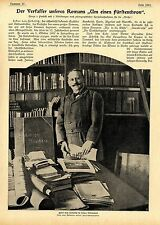 Der Erzähler und Bühnendichter Fedor von Zobeltitz Gut Spiegelberg b.Topper 1899