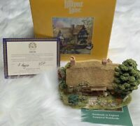 Lilliput Lane Ltd. - 1995 Meadowsweet Cottage - Tiny House - Handmade In England