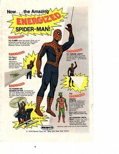 1978 remco  toy AD Spiderman green goblin