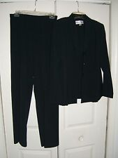 Danny & Nicole Ladies Size 8 Career Blue Designer Pants Suit (NWOT)♡