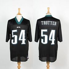 PHILADELPHIA EAGLES NFL AMERICAN FOOTBALL JERSEY SHIRT REEBOK #54 TROTTER L