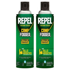 REPEL* 2pc Pack CAMP FOGGER 2 Kills On Contact MOSQUITOES 16oz Each OUTDOOR 1b
