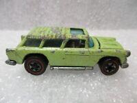 Vintage Hot Wheels 1969 Alive 55 Redline Metallic Lime Green. VHTF!