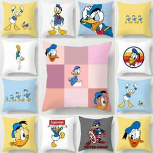 "Disney ""Donald  Duck"" Cartoon Pattern Cushion pillow Cover 45x45cm"