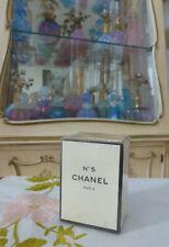 NIFSB VTG 1970s Chanel No. 5 Extrait T.T.P.M. Splash 0.25 Oz 7.5ml CORDED/SEALED
