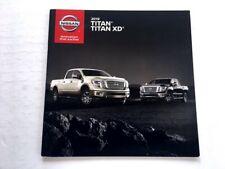 2019 Nissan Titan and XD Truck 28-page Original Sales Brochure Catalog