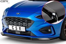 Cup Spoiler Front Ansatz Lippe Schwert für Ford Focus MK4 ST Hochglanz ab 2018