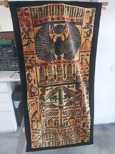 Hanging Egyptian Cotton Tapestry like Motif 31inW by 60inL