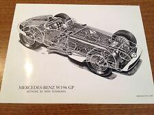 Mercedes-Benz W196 GP Poster
