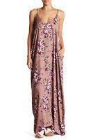 Love Stitch Womens Floral Printed Maxi Dress Size S/M $138 RV