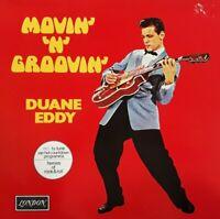 Duane Eddy-Movin' 'N' Groovin' Vinyl LP.1970/1980 Decca 6399 093.Peter Gunn+