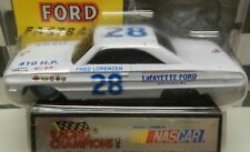 1963 64 FORD GALAXIE FASTBACK FRED LORENZEN 28 LAFAYETTE NC RC RACING CHAMPIONS