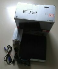 Playstation 3 PS3 Slim Konsole 320GB in OVP + Controller + PS3 Spiele / gebr.