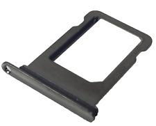 iPhone X Nano sim Karten Halter Dichtung Einschub Slot Halterung Ersatz schwarz