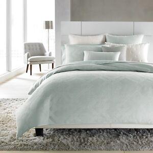 Hudson Park Bedding Edienne FULL/QUEEN Duvet Cover Seaspray MSRP $385 E3203