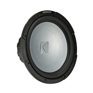 "Kicker  Marine 12"" Single Voice Coil Subwoofer - 2 Ohm"