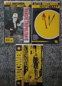 DC Vertigo Graphic Novel Comic Book Catalog Watchmen + Watchmen #1 + Transmetro