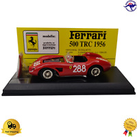 "Diecast Model Car 1:43 1956 Ferrari 500 TRC Italy ""M4"" sas Art Model ART018"