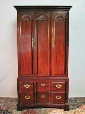 Henredon Folio Fourteen Mahogany Chippendale Style Armoire-Exceptional Condition