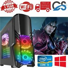 Ultra Rapide Pc Gaming Intel Core i5 2nd Génération 16GB Ram 1TB 240gb SSD 2gb