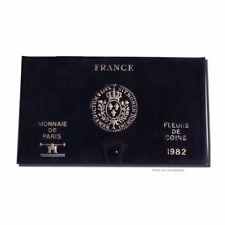 [#23921] Monnaie, France, Set, 1982, Paris, FDC, Gadoury:page 287