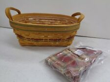 Longaberger Autumn Reflections Small Daily Blessings Basket Combo 2001