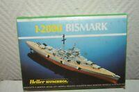MAQUETTE HELLER HUMBROL  BATEAU BISMARK  BOAT 1/2000 NEUF MODEL KIT